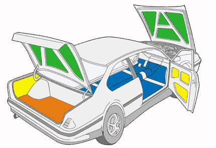 Шумоизоляция авто киев